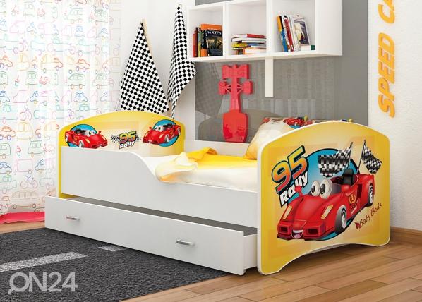 Lasten sänky Rally 80x160 cm
