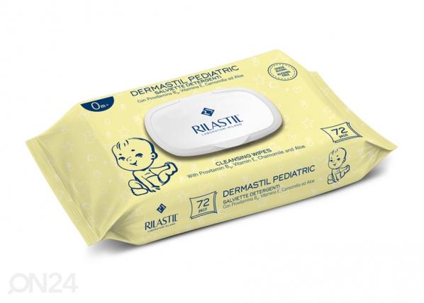 Rilastil Dermastil Pediatric vauvan puhdistuspyyhkeet kamomillalla 2x72 kpl