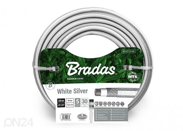 "Kasteluletku Bradas NTS White Silver 1/2"""