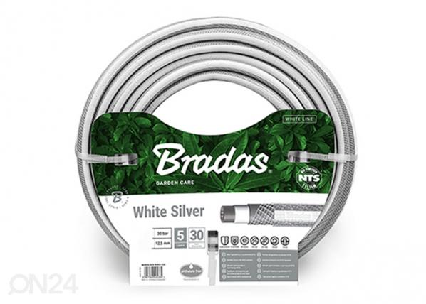 "Kasteluletku Bradas NTS White Silver 3/4"""