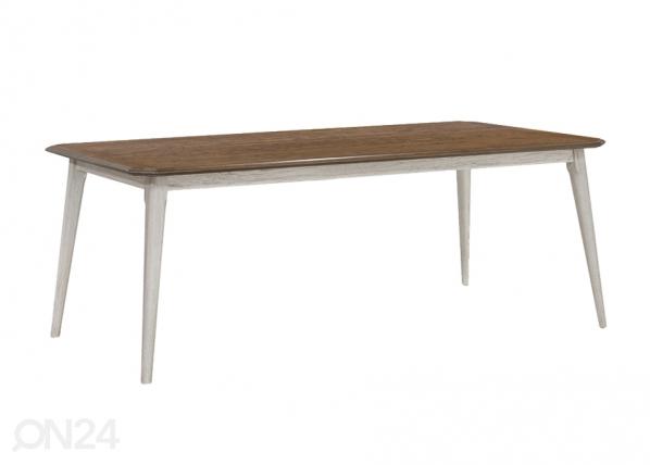 Ruokapöytä Novella 200x100 cm
