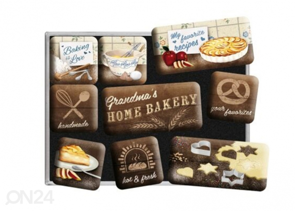 Magneetit Home Bakery 9 kpl