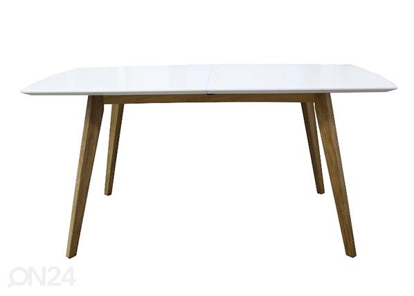 Jatkettava ruokapöytä Bess 160x95 cm