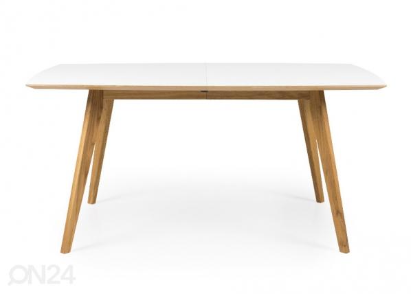 Jatkettava ruokapöytä Bess 160-205x95 cm