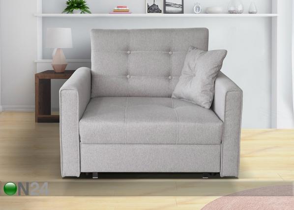 Nojatuoli-sänky