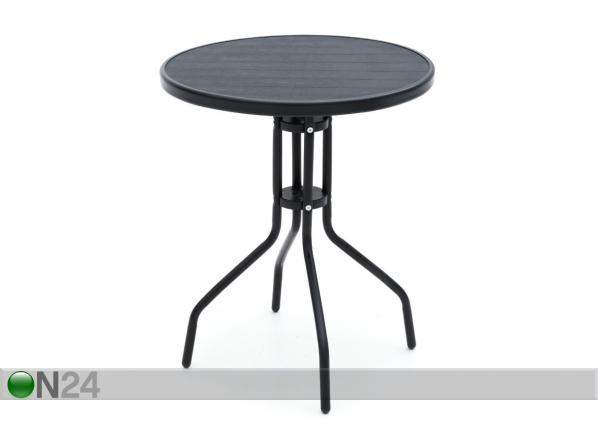 Puutarhapöytä Linda Ø 60 cm