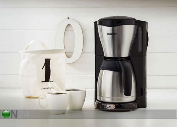 Kahvinkeitin lämpökannulla Philips Cafe Gaia
