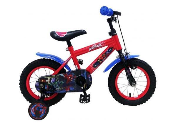 Pikkulasten polkupyörä 12 tuumaa käsijarrulla Spiderman