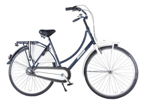 Naisten kaupunkipyörä SALUTONI Dutch oma bicycle Glamour 28 tuumaa 56 cm Shimano Nexus 3 vaihdetta