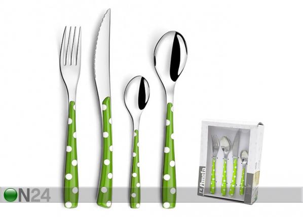 Aterinsarja Vihreä täplä 24-osainen
