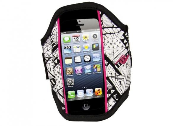 Älypuhelimen käsivarsikotelo Rucanor iPhone5 29397-103