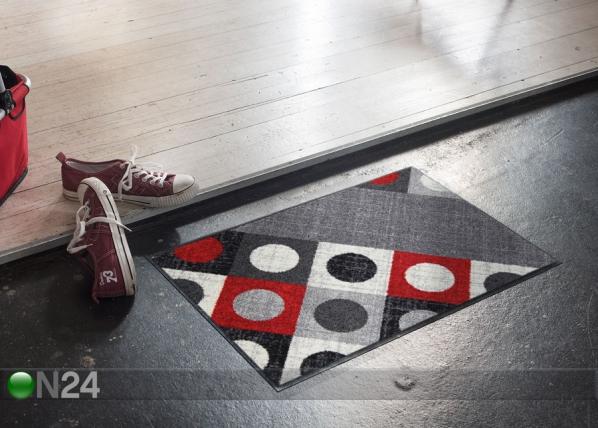 Matto Boules red 50x75 cm