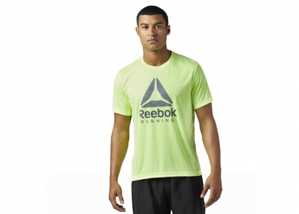 Miesten treenipaita Reebok Run Graphic Tee M BR4414