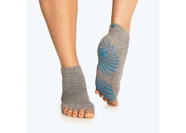 Aikuisten liukumattomat sukat harmaa