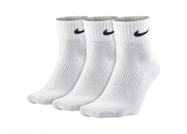 Aikuisten sukat Nike Leightweight Quarter 3-pakkaus SX4706-101