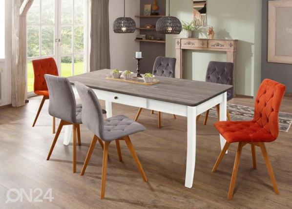Jatkettava ruokapöytä Palermo 180-220x90 cm