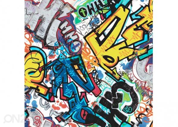 Fleecetapetti Graffity