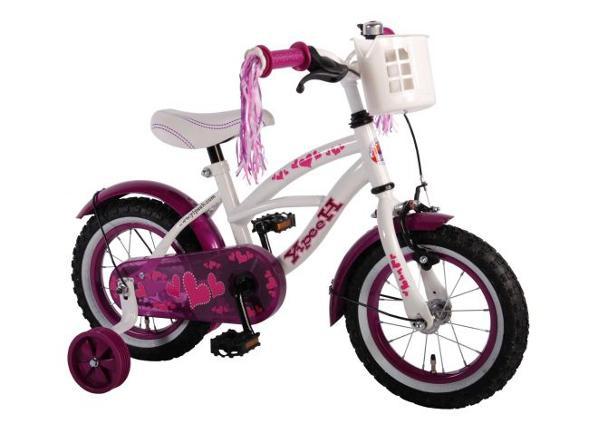 Tyttöjen polkupyörä Heart Cruiser 12 tuumaa Yipeeh