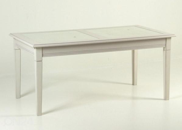 Jatkettava ruokapöytä 170/250x90 cm