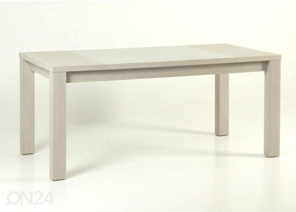 Jatkettava ruokapöytä 180/218x90 cm