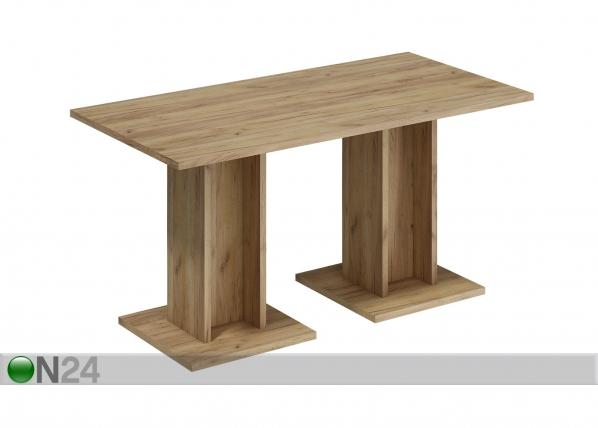 Ruokapöytä 75x150 cm
