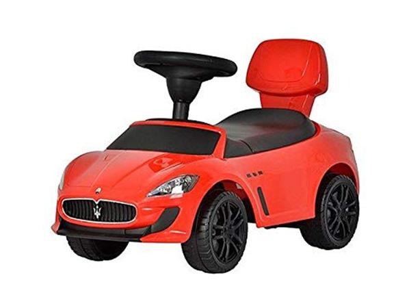 Potkuauto Maserati punainen