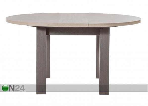 Jatkettava ruokapöytä Toscane 120/150x120 cm