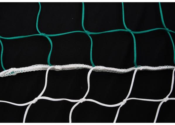 Jalkapallomaalin verkot 2 kpl PE 7,32 x 2,44 m (0,8 / 2,0 m)