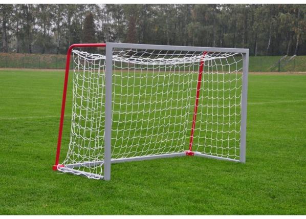 Jalkapallomaali alumiini 160 x 220 cm siirrettävä