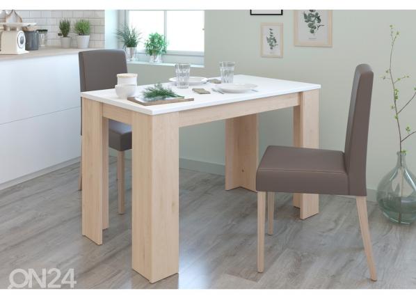Ruokapöytä Alfa 120x67 cm
