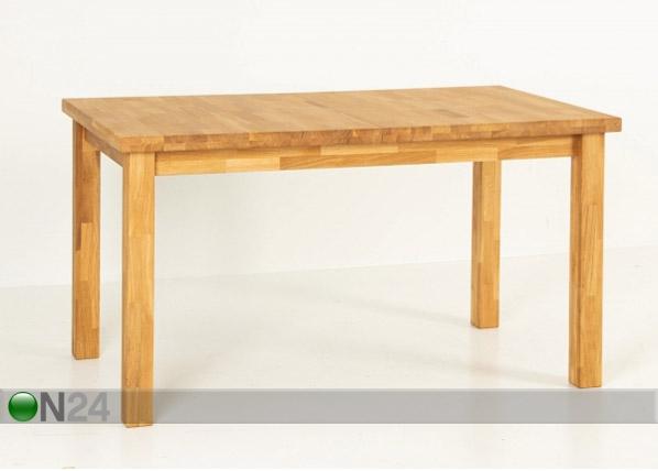 Jatkettava ruokapöytä 140/180x80 cm