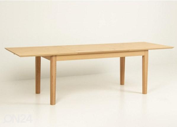 Jatkettava ruokapöytä 180/270x90 cm