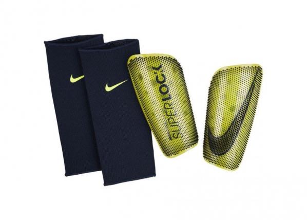 Aikuisten jalkapallo säärisuojat Nike Merc LT Superlock CK2167 702