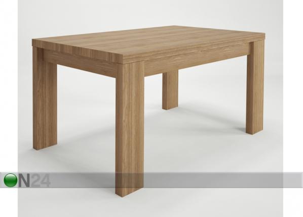 Jatkettava ruokapöytä Camtion 160/200x90 cm