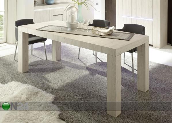 Ruokapöytä Palmira 165x88 cm