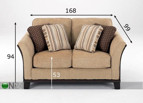 sohva park heights sisal 2 ist fa 20514 on24 sisustustavaratalo. Black Bedroom Furniture Sets. Home Design Ideas