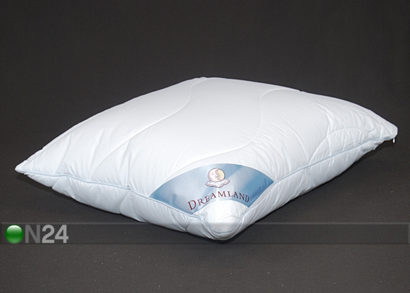 Tikattu tyyny vetoketjulla 50x60 cm