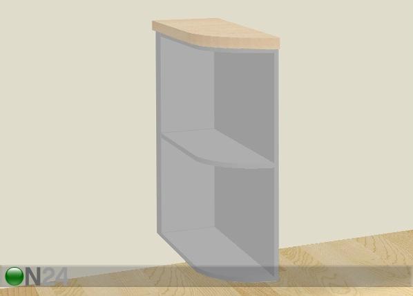 Ala-päätyhylly 25 cm