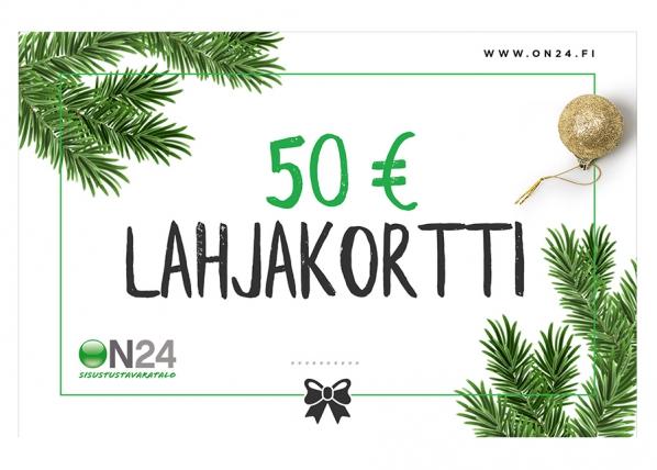 Lahjakortti Joulu 50 €