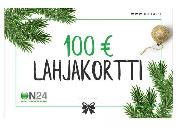 Lahjakortti Joulu 100 €