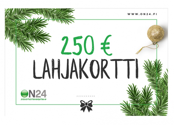 Lahjakortti Joulu 250 €