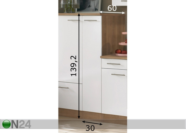 Keittiökaappi MADRAS SM 29643  ON24 Sisustustavaratalo