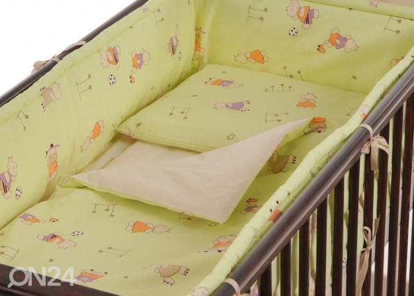 Lasten pussilakanasetti 102x120 cm