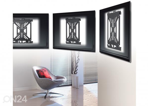 """TV -seinäkiinnitys 37"""" asti"""
