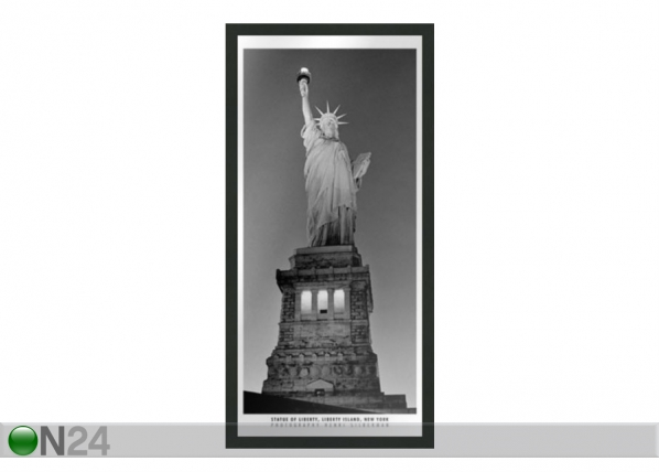 Taulu B&W NEW YORK STATUE OF LIBERTY 23x50 cm OG-37698