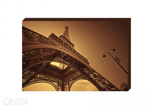 Taulu CANVAS - EIFFEL TOWER IN PARIS 50x70 cm