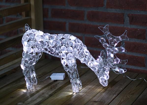 Joulukoriste ulkotiloihin REINDEER 34 cm
