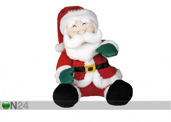 Joulukoriste istuva joulupukki