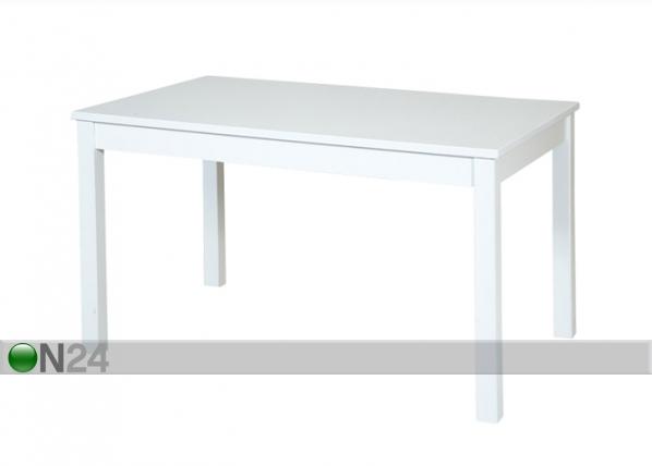 Ruokaöytä, koivu 80x130 cm