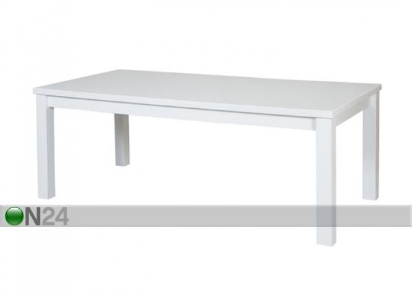 Ruokapöytä, koivu 90x170 cm